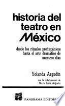 Historia del teatro en México