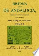 Historia General de Andalucia