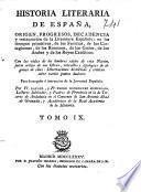 Historia literaria de España