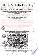 Historia pontifical y catolica... con mas una breve recapitulacion de las cosas de Espaâ ... [Partes Primera y Segunda], [Partes tercera y quarta por Luis de Bavia] [parte quinta por Marcos de Guadalaxara y Javier]