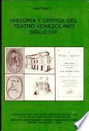Historia y crítica del teatro venezolano