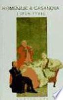 Homenaje a Casanova (1725-1798)