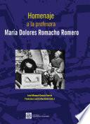 Homenaje a la profesora María Dolores Romacho