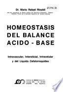 Homeostasis del balance acido-base