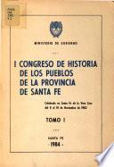 I Congreso de Historia de los Pueblos de la Provincia de Santa Fe