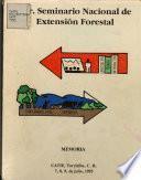 I Seminario Nacional de Extensional Forestal