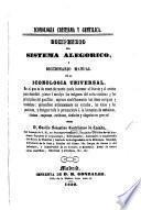 Iconologia Cristiana y Gentilica. Compendio del sistema alegorico, y diccionario manual de la iconologia universal, etc