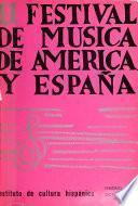 II Festival de Música de América y España