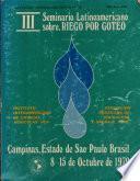 III Seminaio Latinoamericano sobre RIEGO POR GOTEO. Campinas, Estado de Sao Paulo Brasil 8-15 de Octubre de 1979