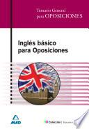 Inglés Basico Para Oposiciones.e-book.