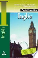 Inglés. Prueba Especifica. Prueba de Acceso a la Universidad Para Mayores de 25 Años.e-book