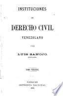 Instituciones de derecho civil Venezolana