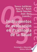 Instrumentos de evaluación en Psicología de la salud