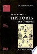 Introducción a la historia de la arquitectura