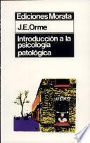 Introducción a la psicología patológica