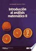 Introducción al análisis matemático II