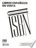 ISBN 1989