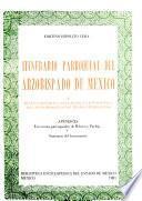 Itinerario parroquial del arzobispado de México