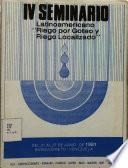 IV Seminario Latinoamericano sobre riego por goteo y riego localizado. Memorias