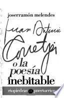 Juan Antonio Corretjer o la poesía inebitable [sic]