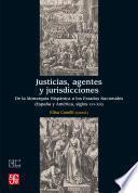 Justicias, agentes y jurisdicciones