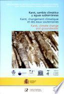 Karst, cambio climático y aguas subterráneas