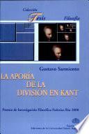 La aporía de la división en Kant
