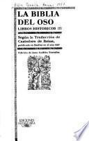 La Biblia del oso: Libros históricos