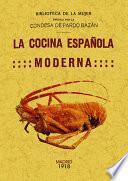 LA COCINA ESPAÑOLA MODERNA