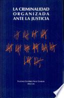 La criminalidad organizada ante la Justicia