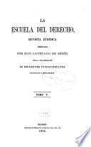 La escuela del derecho
