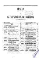 La esperiencia en medicina