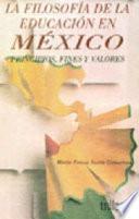 La filosofía de la educación en México