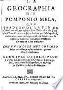 La geographia (traducida) de latin en castellano por Luis Tribaldos