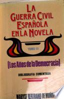La guerra civil española en la novela