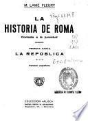 La historia de Roma, contada a la juventud