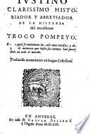 La historia de Trogo Pompeyo (etc.)