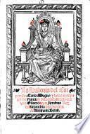 La Historia del Emperador Carlo Magno y de los 12 pares de Francia y de la cruda batalla que uno Oliveros con Fierabras Rey de Alexandria bijo del grande Almirante Balan