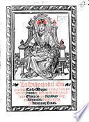 La Historia del Emperador Carlo Magno y de los doze pares de Francia y de la cruda batalla que vuo Oliueros con Fierabras Rey de Alexandira bijo del gran de Almirante Balan