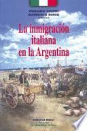 La inmigración italiana en la Argentina