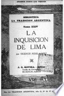La inquisición de Lima