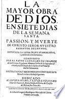 La mayor Obra de Dios en Siete Dias de la Semana Santa...