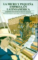 La micro y pequeña empresa en Latinoamérica