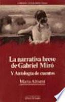 La narrativa breve de Gabriel Miró