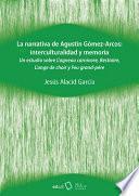 La narrativa de Agustín Gómez-Arcos