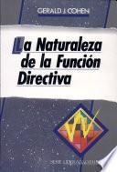 La naturaleza de la función directiva