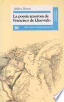 La poesía amorosa de Francisco de Quevedo