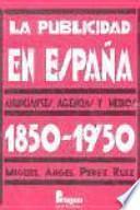 La publicidad en España