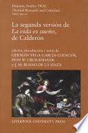 La segunda versión de La vida es sueño, de Calderón