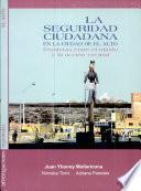 La seguridad ciudadana en la ciudad de El Alto